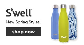 Shop our latest collection of S'well water bottles. Keep your drinks cold for 24 hours and hot for 12 with colourful, non-leaching and non-toxic bottles.