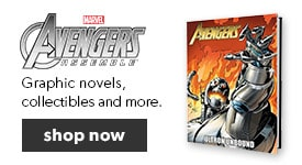 Find The Avengers graphic novels and more in our Comic Book Shop