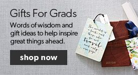 Find the perfect gifts for grads in our Grad Shop