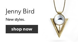 Shop our collection of Jenny Bird Jewellery. Free shipping on orders over $25.