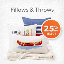shop pillows and throws