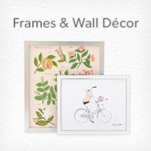 Shop frames and wall décor