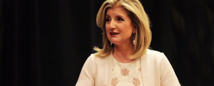 In Conversation with Ariana Huffington