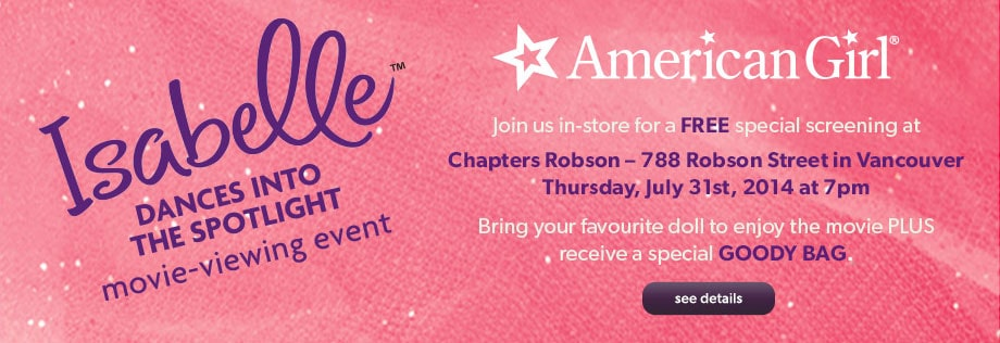 Click for American Girl Events