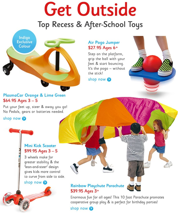 Get Outside with Indigo's Top Recess & After-School Toys!