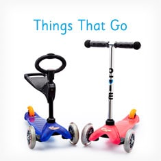 Things That Go Toys at Indigo's Outdoor Toy Shop