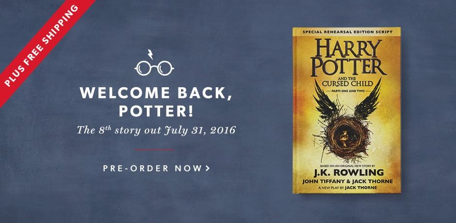 Harry Potter - July 31st release