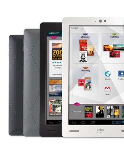 The New Kobo Arc tablet eReader