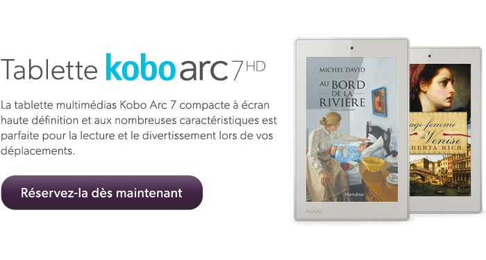 Tablette kobo arc 7HD