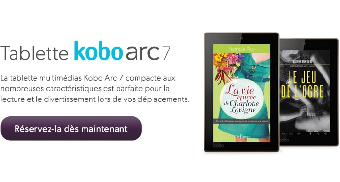 Tablette kobo arc 7