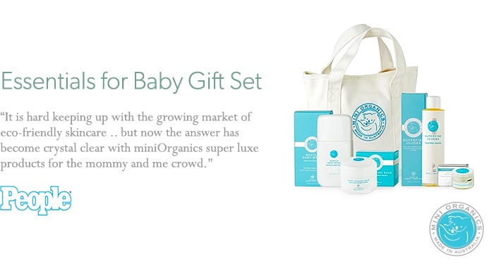 Miniorganics Baby Essentials