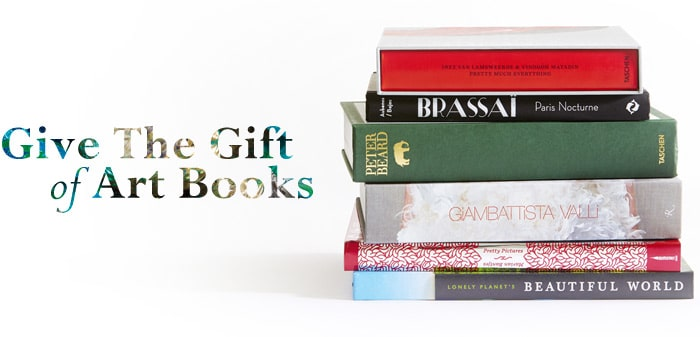 Give the gift of Art Books