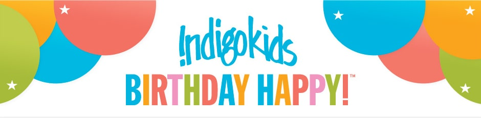 Indigo Kids Birthday Shop page for shopping by age and much more!