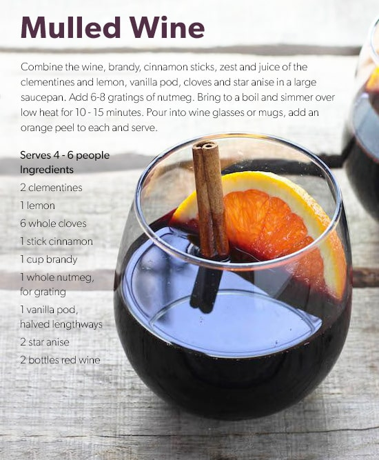 Indigo's Exclusive Mulled Wine Recipe