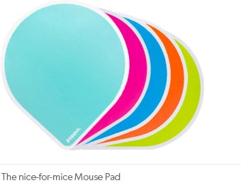 The nice-for-mice Mouse Pad