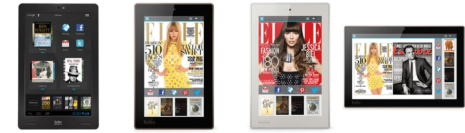 Kobo Arc Tablets - eReaders