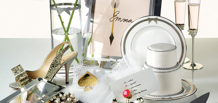 Dazzling party tips from kate spade new york