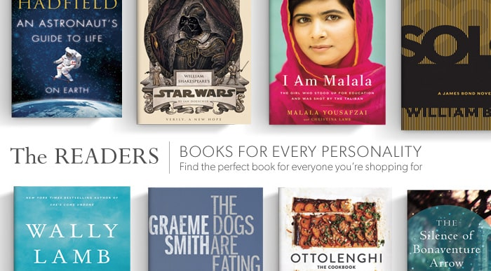 Find the perfect book for everyone you're shopping for
