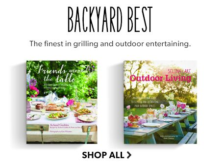 Shop the finest books in grilling and outdoor entertaining.