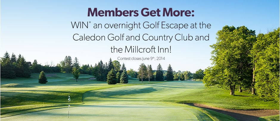Win an Overnight Golf Escape