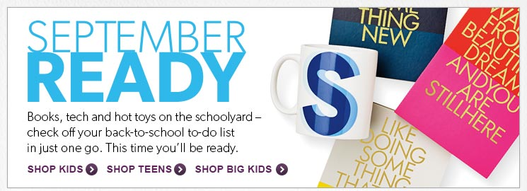 Shop books, tech and hot toys - check off your back-to-school shopping list in just one go on indigo.ca. This time you will be ready.