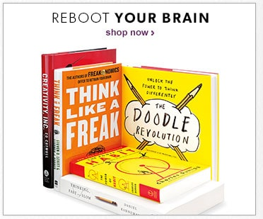 shop books to reboot your brain in September Ready