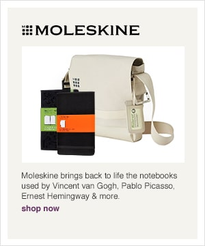 Shop our Moleskine Shop. Moleskine brings back to life the notebooks used by Vincent van Gogh, Pablo Picasso, Ernest Hemingway, and more.