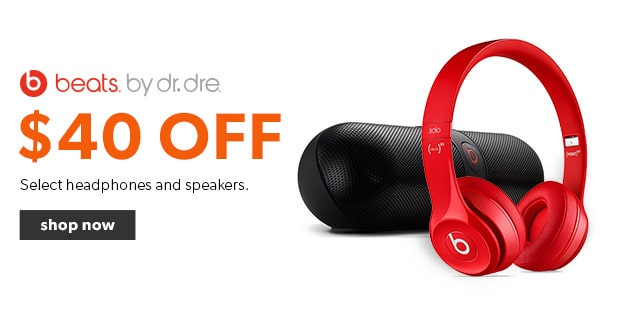 $40 off select Beat by Dre