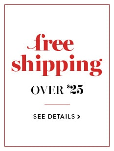 Free Shipping Over $25