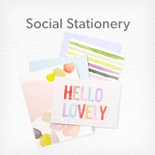 shop Social Stationery