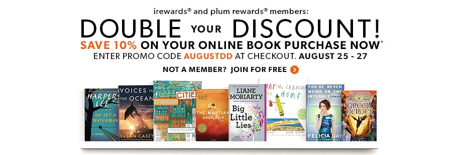 Members Get More! Double your Discount! Save 10% on your online book purchase now. Enter promo code AUGSTDD at checkout.