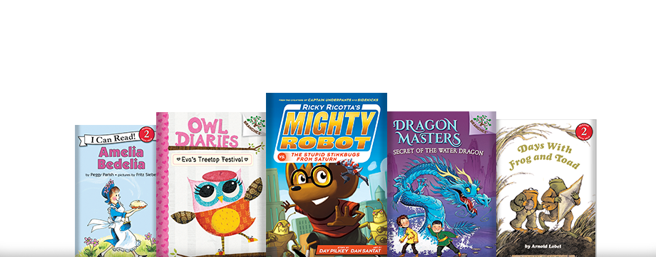 First Fun Fiction: Fun & friendly first chapter books for eager readers.