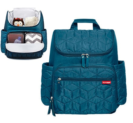 Shop Skip*Hop Diaper Bags: Forma Backpack available in peacock and black