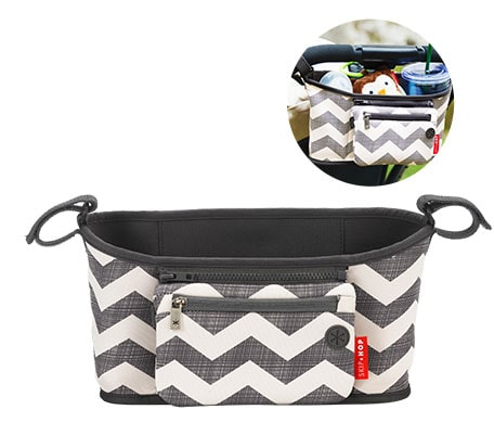 Shop Skip*Hop Diaper Bags: Grab and Go Stroller Organizer Available in Chevron, Black and Platinum