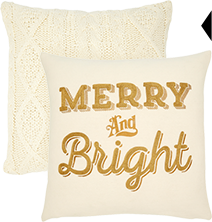 shop festive pillows