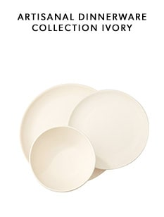 shop the Ivory Artisanal Dinnerware Collection by Indigo