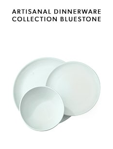 shop the Bluestone Artisanal Dinnerware Collection by Indigo