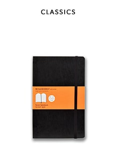 shop classic journals by Moleskine
