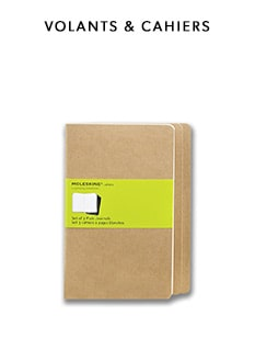 shop Moleskine notebooks - volants and cahiers