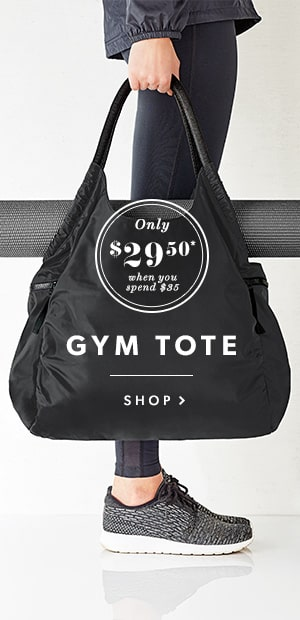 Gym Tote Special Offer