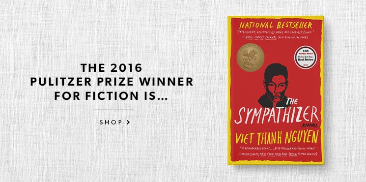 The Sympathizer is the winner of the 2016 Pulitzer Prize for Fiction