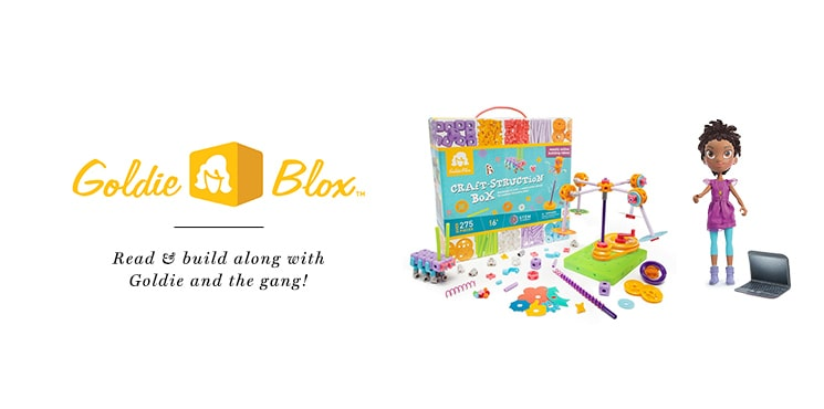 GoldieBlox Header