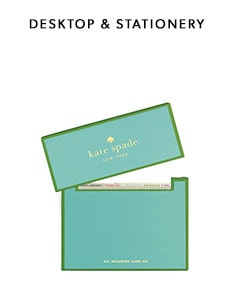 kate spade new york desktop and stationery