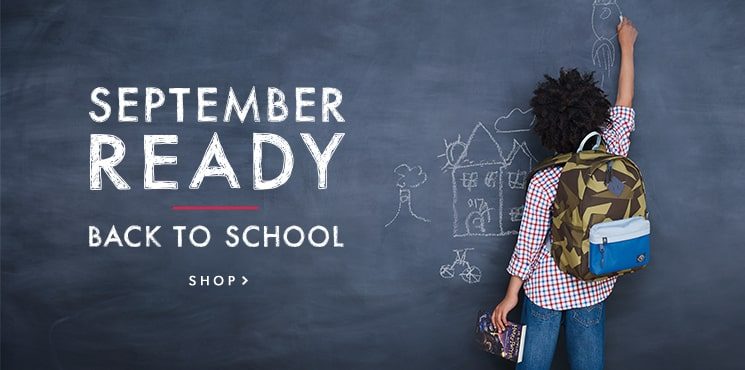 September Ready | Back to School : backpacks, lunch gear, kids' school supplies, and more!