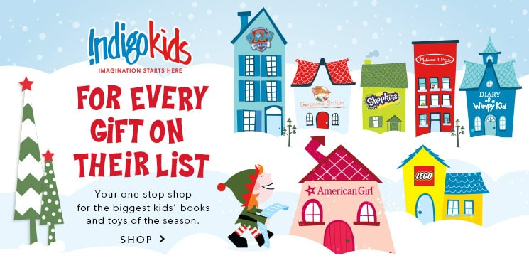 Your one-stop shop for the biggest kids' books and toys of the season.