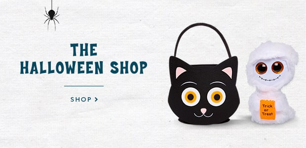Halloween || Shop our selection of Halloween costumes, treat baskets, kids' books, TY plush, games and more!