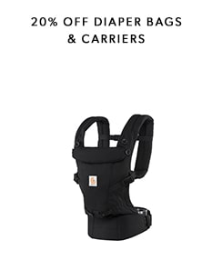 20% OFF Diaper Bags & Carriers