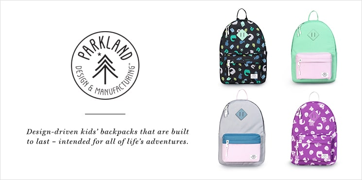 Parkland: Design-driven kids' backpacks that are built to last