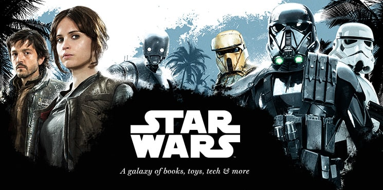 Star Wars || A galaxy of books, toys, tech & more