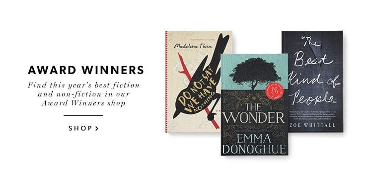 Discover the best books of the year in our Award Winners shop!